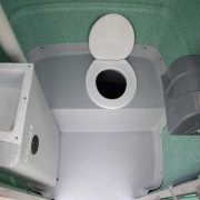 Open Closet Chemical Toilet Melbourne