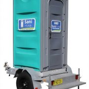 Trailer Portable Toilet Hire Sydney & Melborune