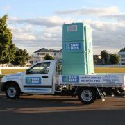 portable toilet removal